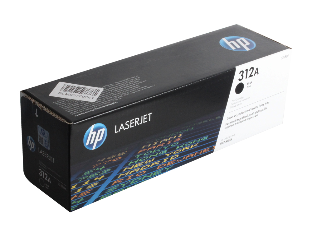 Картридж HP CF380A для Color LaserJet Pro MFP M476 series. Чёрный. 2400 страниц. new paper delivery tray assembly output paper tray rm1 6903 000 for hp laserjet hp 1102 1106 p1102 p1102w p1102s printer