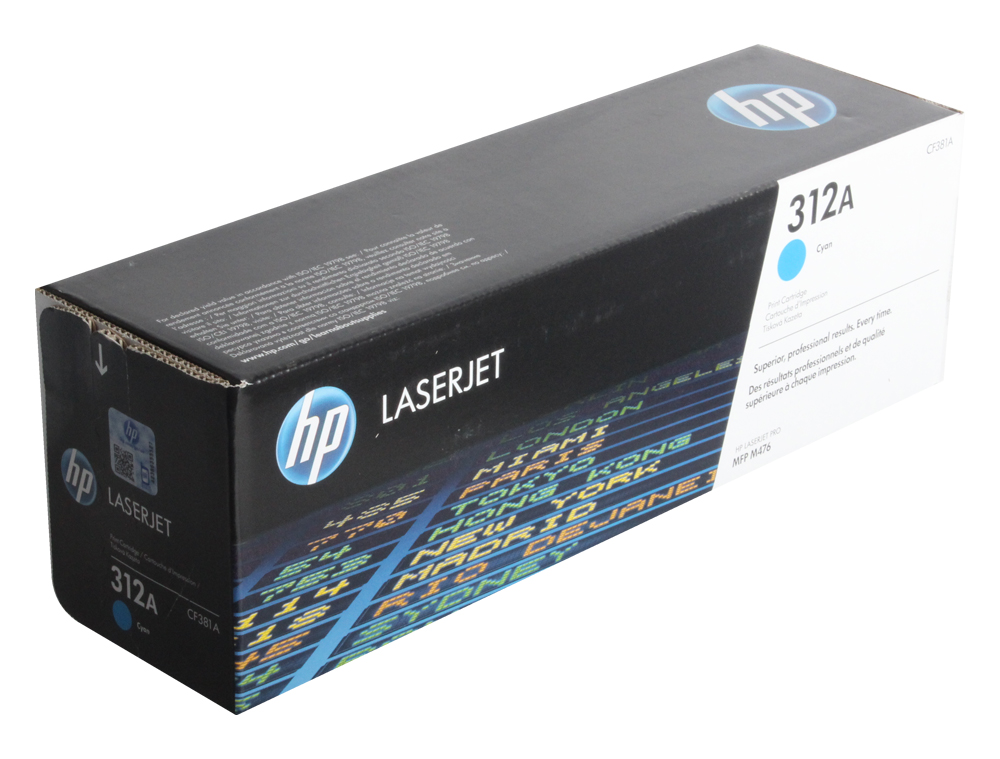 Картридж HP CF381A для Color LaserJet Pro MFP M476 series. Голубой. 2700 страниц. alzenit kit unit assembly for hp 2025 2320 m351 m476 original used transfer belt printer parts on sale