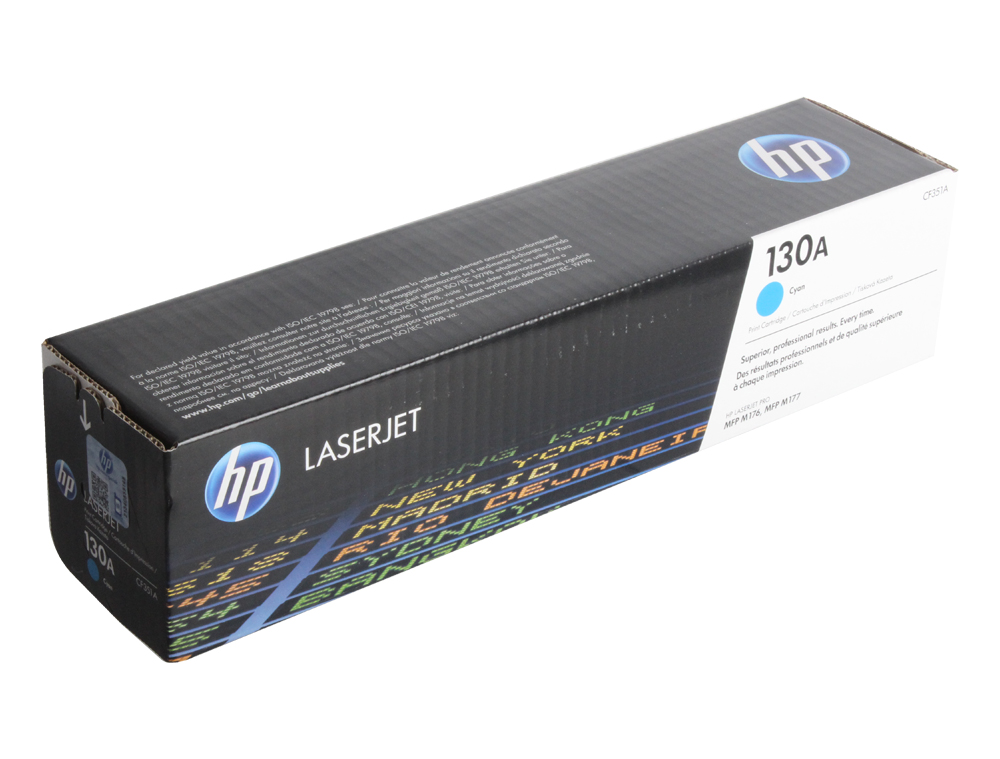 Картридж HP CF351A для LaserJet Pro M153/M176/M177. Голубой. 1000 страниц. 130A. rg0 1013 for hp laserjet 1000 1150 1200 1300 3300 3330 3380 printer paper tray