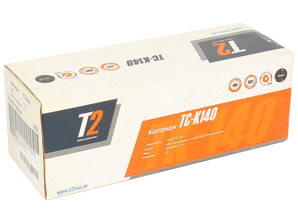 Тонер-картридж T2 TC-K140 (TK-140) с чипом картридж t2 tc k1120 черный