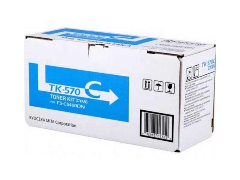 Тонер-картридж Kyocera TK-570BK черный (black) 16000стр для Kyocera FS-C5400DN тонер картридж kyocera tk 1110 черный
