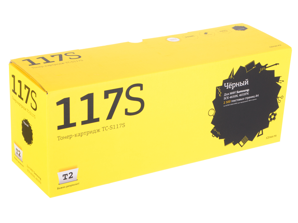 Картридж T2 TC-S117S (с чипом) картридж t2 для hp tc h85a laserjet p1102 1102w pro m1132 m1212nf m1214nfh canon i sensys lbp6000 cartrige 725 1600 стр с чипом