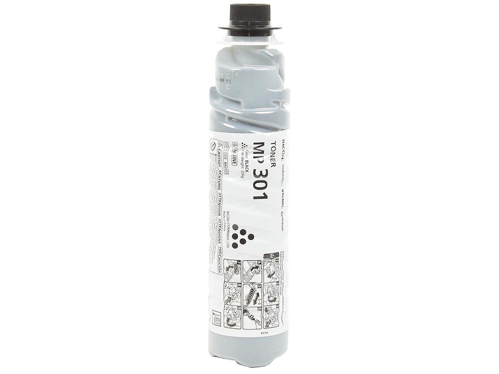 Тонер тип MP301 для Aficio MP 301SP/301SPF. Чёрный. 8000 страниц. тонер ricoh 406351
