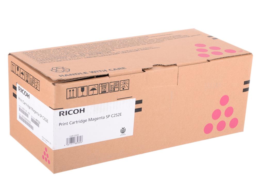 Картридж тип SP C252E Magenta для SP C252DN/C252SF. Пурпурный. 4000 страниц. картридж ricoh sp c252e cyan для sp c252dn c252sf c262dnw c262sfnw 4000стр 407532