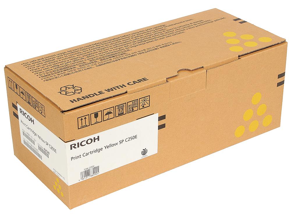 Картридж тип SP C250E Yellow для SP C250DN/C250SF. Жёлтый. 1600 страниц. кейс для экшен камер sp pov case 3 0 small gopro edition жёлтый