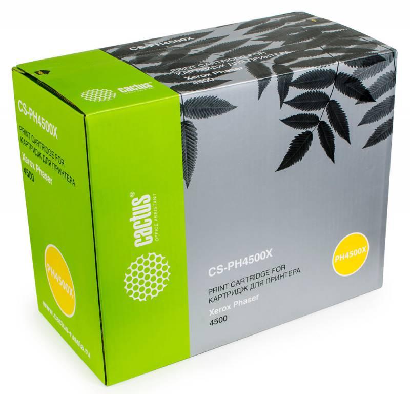 Картридж Cactus CS-PH4500X для Xerox Phaser 4500. Черный.18000 страниц. (113R00657) cactus cs pbpt18 18000al 18000