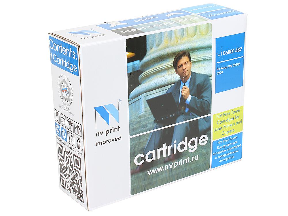 Картридж NV-Print совместимый с Xerox 106R01487 для WC 3210/3220 (4100k) картридж xerox 106r01487 для wc 3210 3220 чёрный 4100 страниц