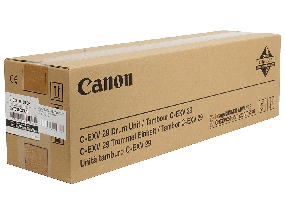 Фотобарабан Canon C-EXV29 для IR C5030, C5035 серий . Чёрный. copier part c5030 fuser film compatible new for canon ir advance c5030 c5035 c5045 c5051 high quality