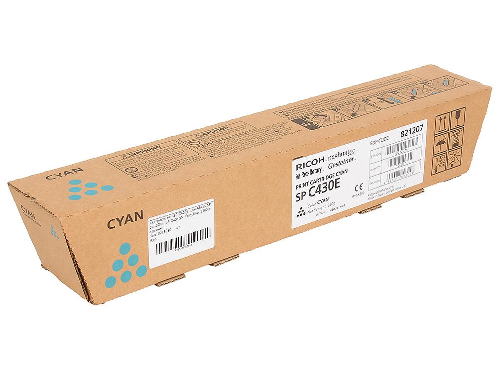 Картридж тип SP C430E для Aficio SP C430DN / SP C431DN. Голубой. 21000 страниц. sp united vertriebs gmbh 53090 sp gadgets aqua bundle