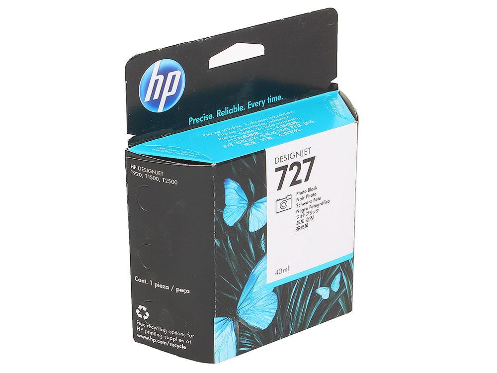 Картридж HP B3P17A Чёрный фото картридж hp 17 многоцветный [c6625a]