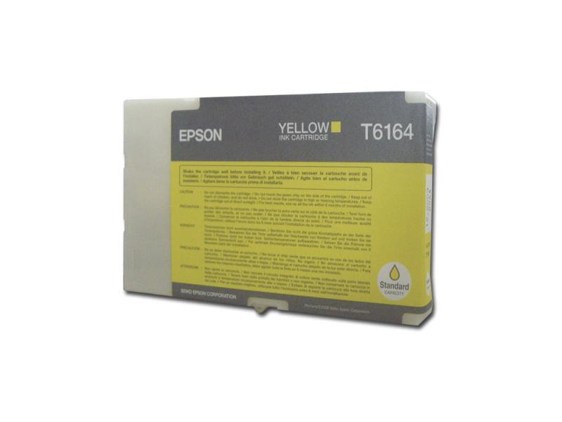 Картридж Epson Original T616400 для B300/B500DN. Жёлтый. картридж epson t009402 для epson st photo 900 1270 1290 color 2 pack