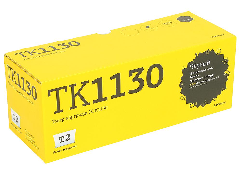Тонер-картридж T2 TC-K1130 (TK-1130) с чипом картридж t2 tk 895y желтый [tc k895y]