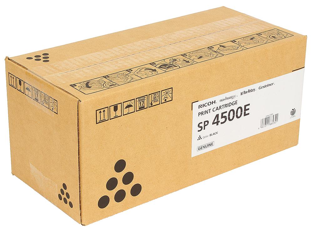 Картридж Ricoh SP 4500E Чёрный картридж ricoh sp 311uhe 821242