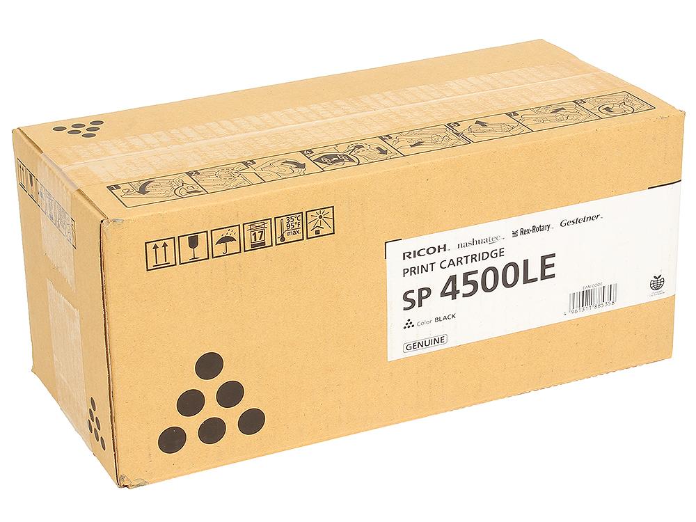 Картридж Ricoh SP 4500LE Чёрный картридж ricoh sp 4500le для sp 4510dn sp410sf черный 3000стр 407323