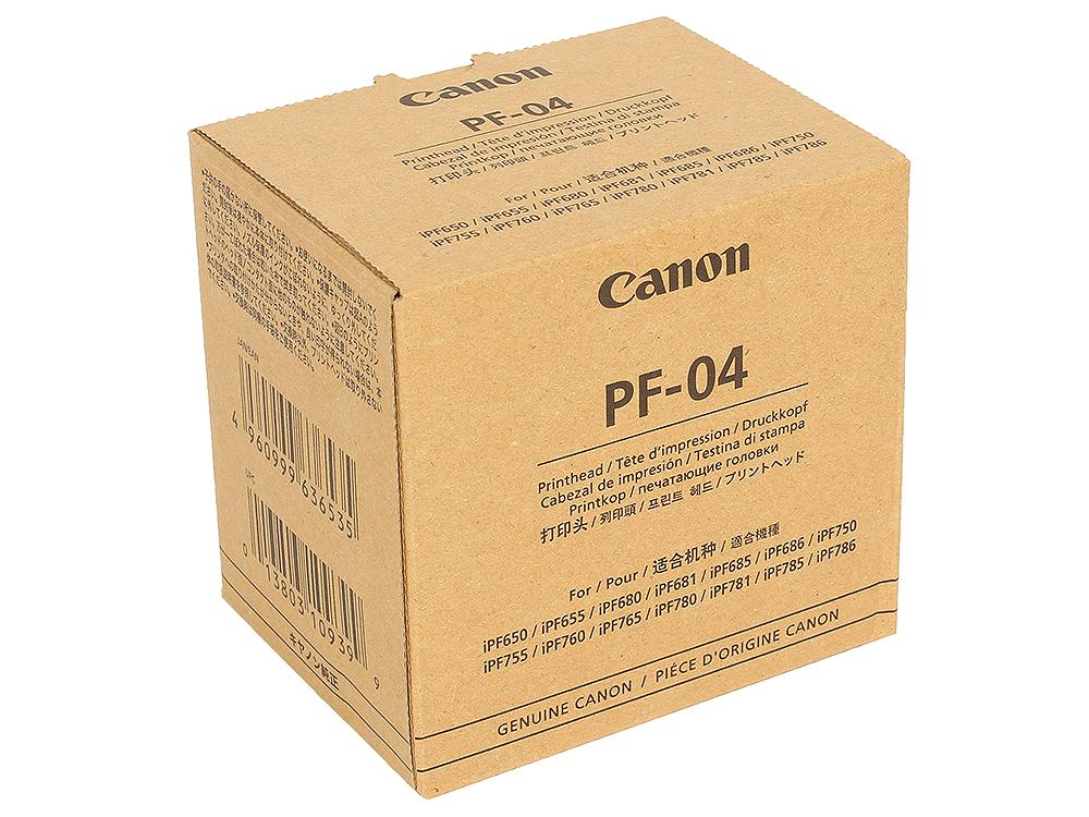 Печатающая головка Canon PF-04 для iPF 680/685/750/780/785. печатающая головка для принтера canon qy6 0073 p3600 ip3680 mp620 mp558 mp568