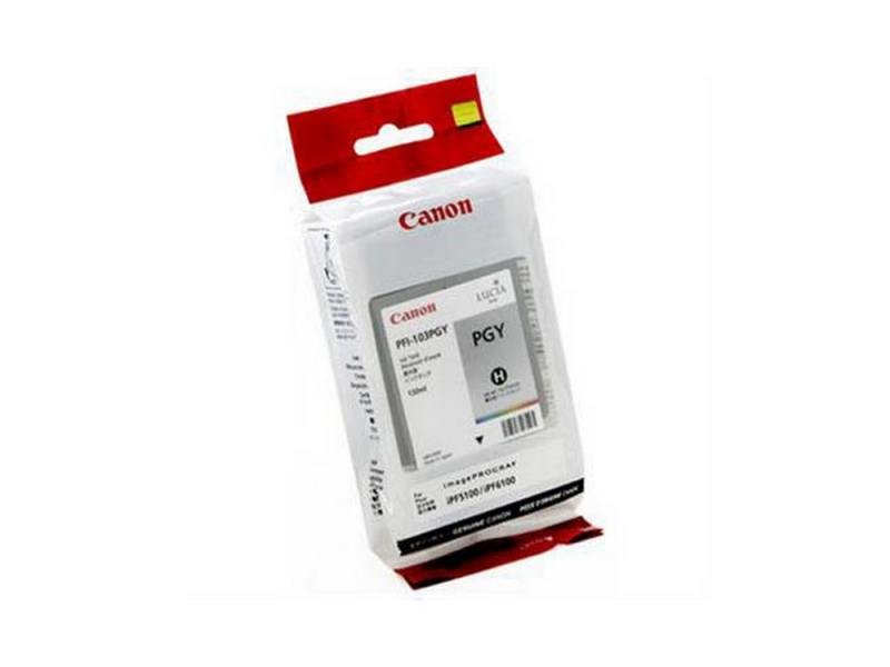 Картридж Canon PFI-103 PGY для плоттера iPF5100. Фото серый.