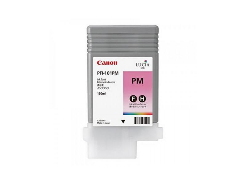 Картридж Canon PFI-101 PM для плоттера iPF5100. Фото пурпурный. canon pt 101