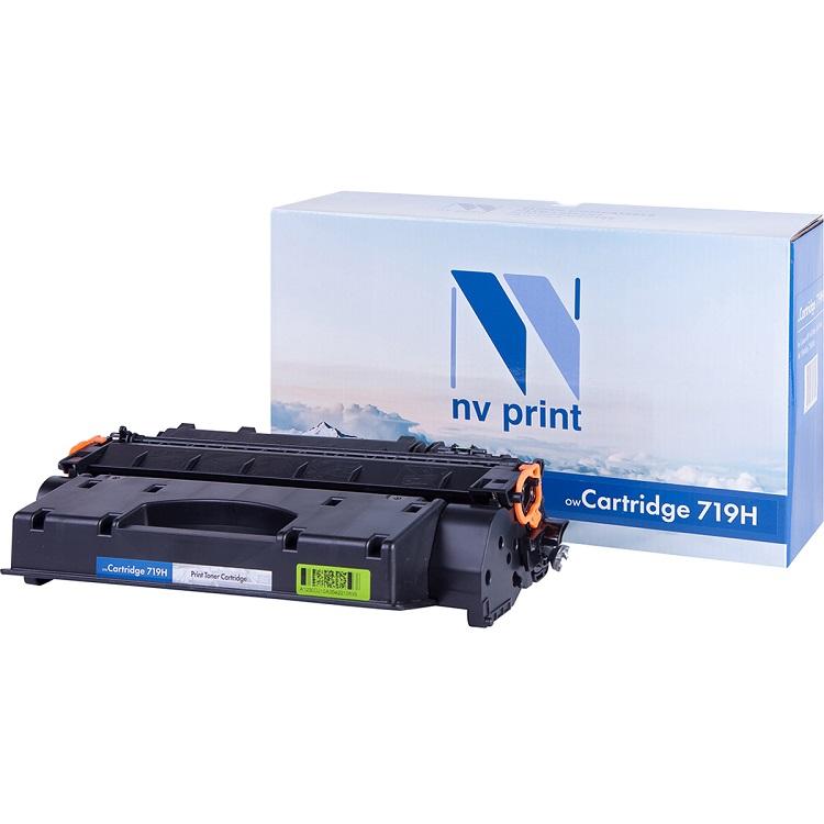 Картридж NV Print совместимый Canon 719H для LBP6300/6650, MF5840/5880. Чёрный. 6400 страниц. nv print nv 719h black тонер картридж для canon i sensys lbp6300 lbp6650 mf5840 mf5880