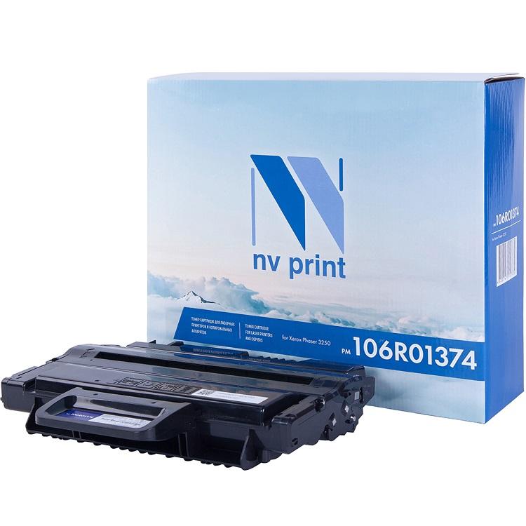 Картридж NV-Print совместимый с Xerox для Phaser 3250. Чёрный. 5000 страниц. (106R01374) картридж xerox 106r01374