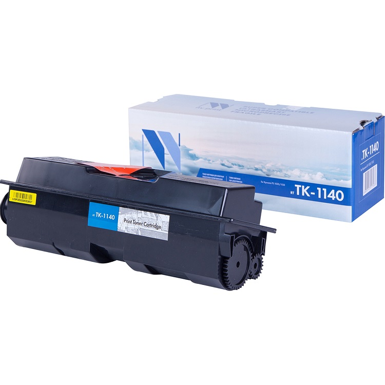 Картридж NV-Print совместимый Kyocera TK-1140 для FS-1035/1135MFP. Чёрный. 7200 страниц. картридж nv print совместимый kyocera tk 1130 для fs 1030 1130mfp чёрный 3000 страниц