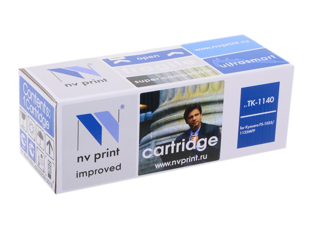 Картридж NV-Print совместимый Kyocera TK-1140 для FS-1035/1135MFP. Чёрный. 7200 страниц. картридж nv print для samsung sl m2620 2820 2870 3000k nv mltd115l