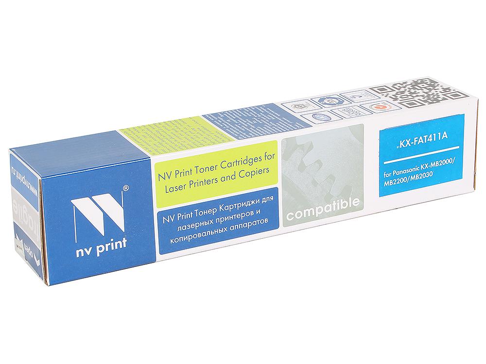 Картридж NV-Print KX-FAT411A картридж nvprint kx fat411a kx fat411a nvp