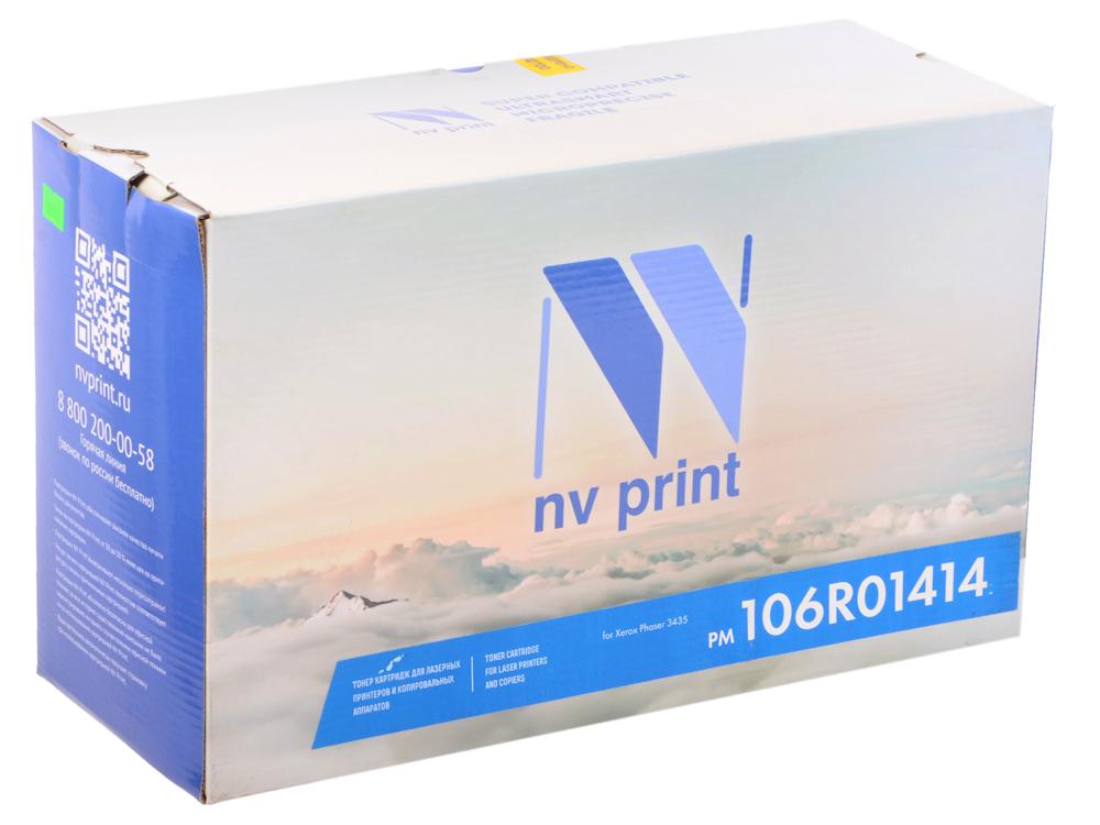Картридж NV Print совместимый Xerox для Phaser 3435. Чёрный. 4000 страниц. (106R01414) картридж xerox 106r01411 для phaser 3300 mfp x черный 4000 страниц