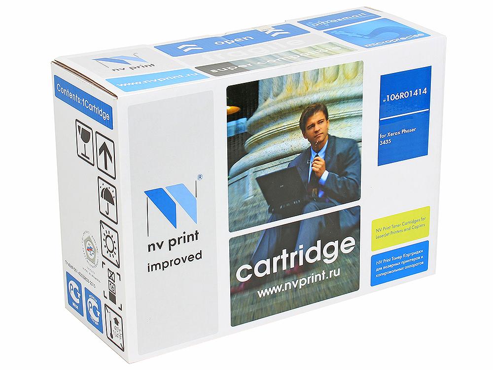 Картридж NV Print совместимый Xerox для Phaser 3435. Чёрный. 4000 страниц. (106R01414) картридж для принтера nv print для xerox 108r00909