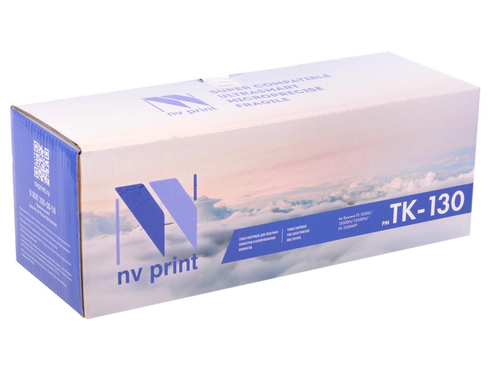 Картридж NV-Print совместимый Kyocera TK-130 для FS-1028MFP/1128MFP/1300D/1350DN. Чёрный. 7200 страниц. цена
