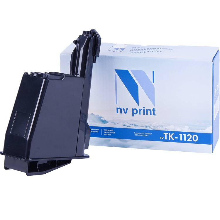 Картридж NV-Print совместимый Kyocera TK-1120 для FS-1060DN/1025MFP/1125MFP. Чёрный. 3000 страниц. картридж nv print совместимый kyocera tk 1130 для fs 1030 1130mfp чёрный 3000 страниц
