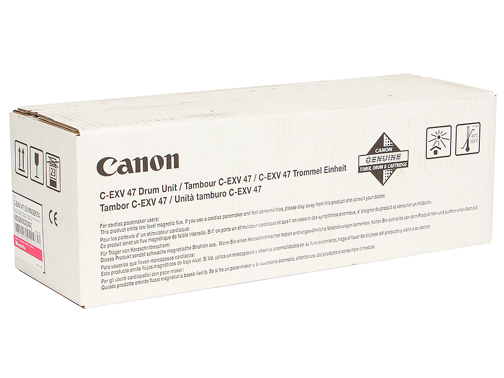 Фотобарабан Canon C-EXV47M для iR C1325iF/1335iF. Пурпурный. тонер canon c exv47y для ir c1325if 1335if жёлтый 30 000 страниц