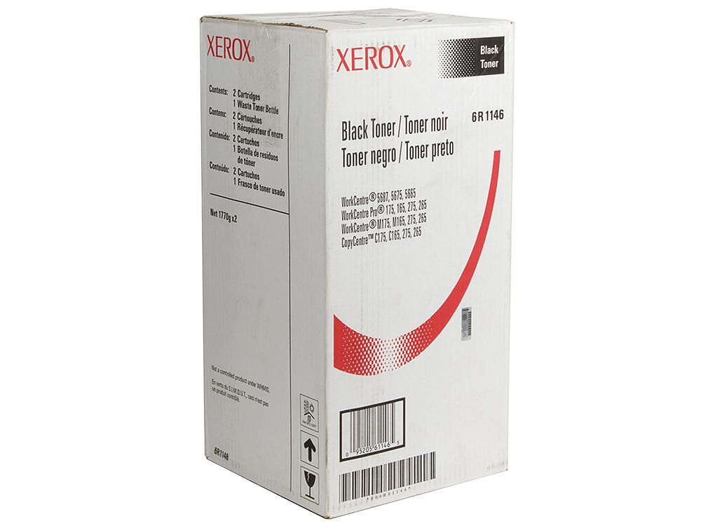 Картридж Xerox 006R01146 для лазерного МФУ WorkCentre 5765/5775/5790. Чёрный. 108 000 страниц картридж для мфу xerox workcentre 7120 006r01462 yellow