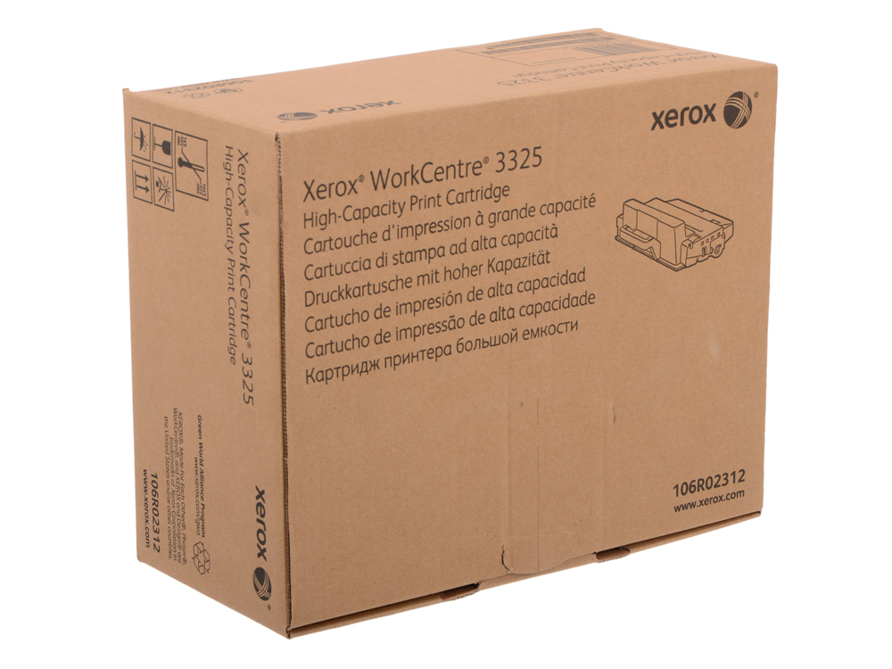 Картридж Xerox 106R02312 для WorkCentre 3325. Чёрный. 11 000 страниц. police police pl 12550js 61m