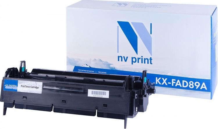 Тонер-картридж NV-Print совместимый Panasonic KX-FAD89A для KX/FL-403/413. Чёрный. 10000 страниц.