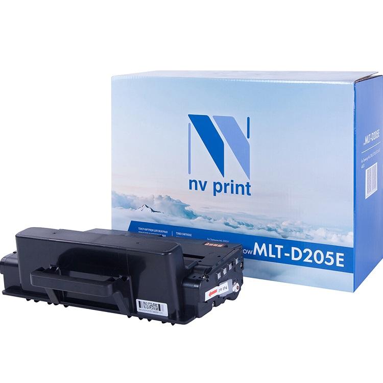Картридж NV Print совместимый Samsung MLT-D205E для ML-3710/SCX-5637. Чёрный. 10000 страниц. картридж cactus mlt d205e cs d205e