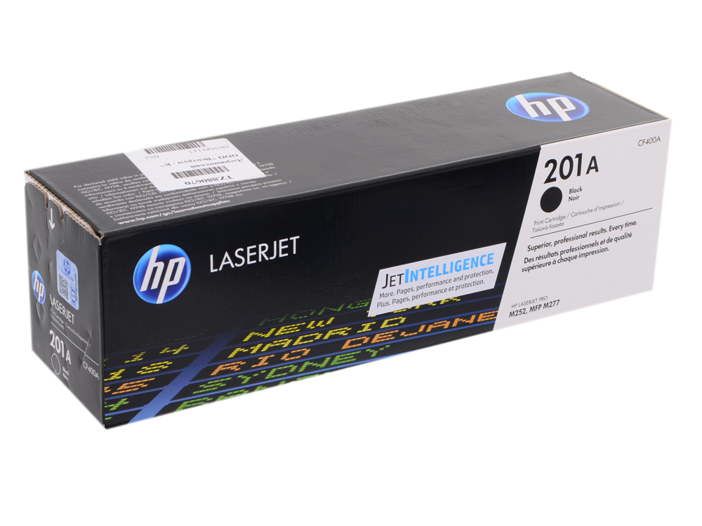 Картридж HP CF400A для LaserJet Pro M252n/M252dw, Черный. 1500 страниц. (HP 201A) perseus toner cartridge for hp cf400a cf401a cf402a cf403a 201a compatible hp color laserjet pro m252dw m252n mfp m277n m277dw