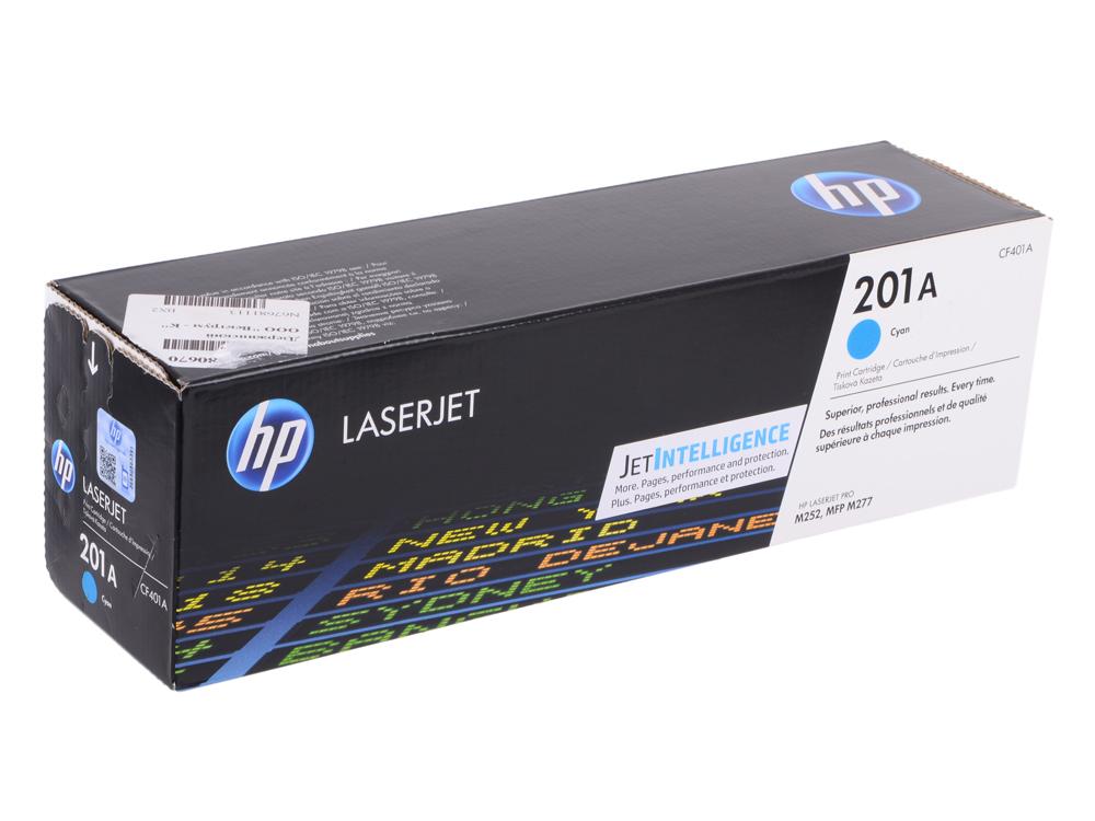 Картридж HP CF401A Голубой картридж hp cf401a 1500 стр