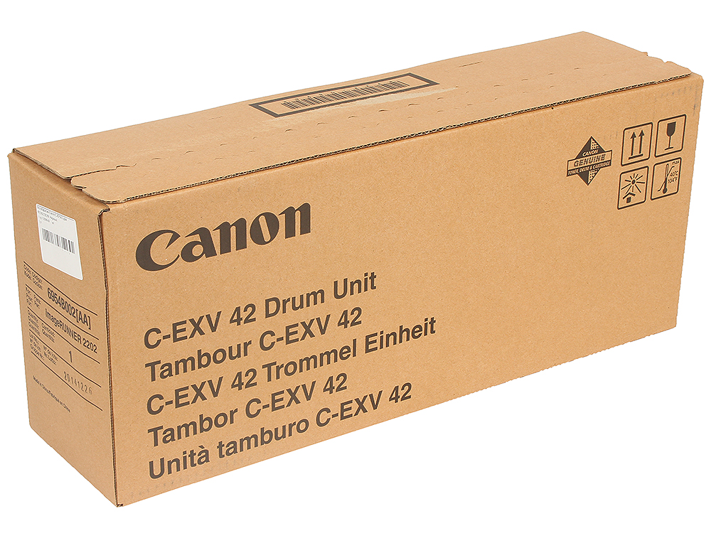Фотобарабан Canon C-EXV42 для IR2202/2202N. Чёрный. фотобарабан canon c exv42 для ir 2204 6954b002aa
