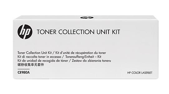 Ёмкость для сбора тонера CE980A/CE980-67901 HP Color LaserJet CP5525 Toner Kit cb376 67901 original new scan head bracket for hp 1005 1017 m1120 m1005
