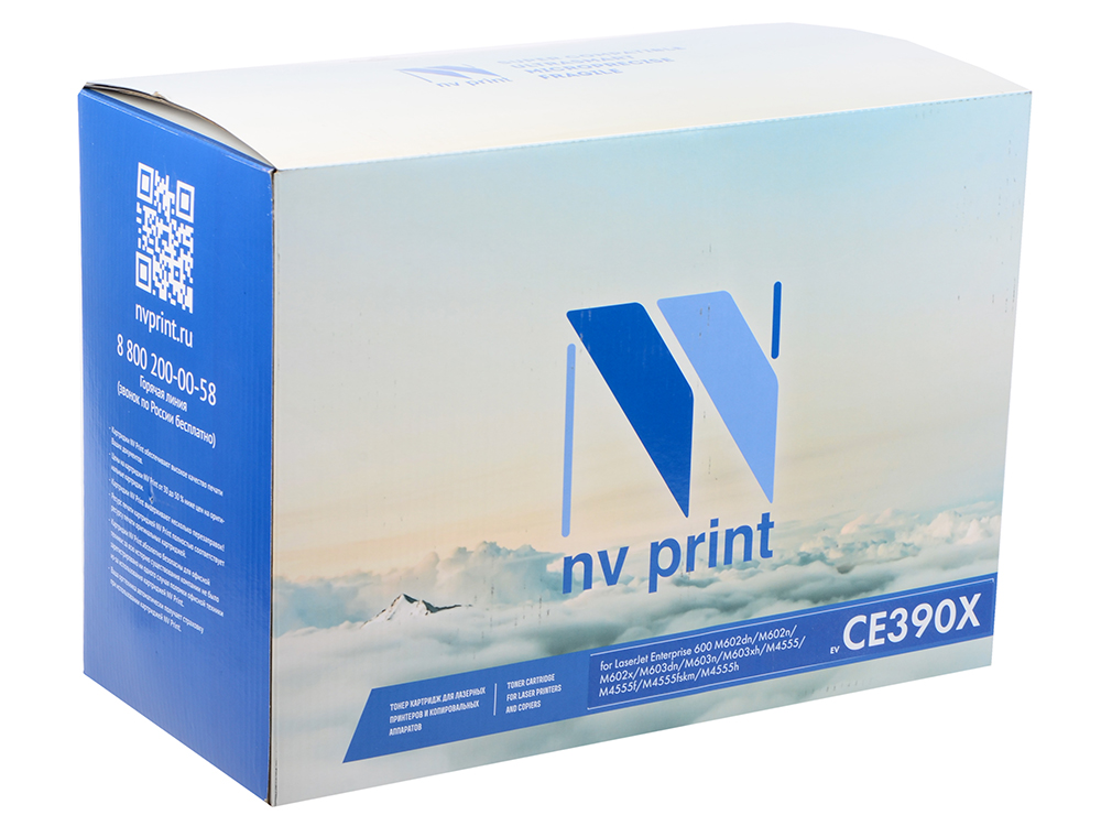 Картридж NV Print совместимый HP CE390X для LJ M4555 (24000k) картридж для принтера hp c8767he 130 black inkjet print cartridge