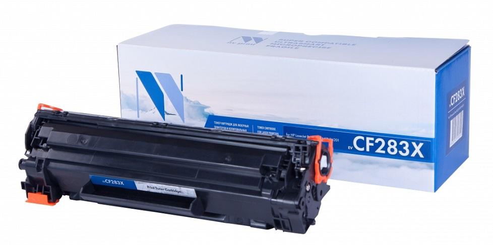 Картридж NV Print совместимый HP CF283X для HP LJ MFP M125/M127 картридж colortek cf283a для нр lj pro m125 126 127 128 201 225