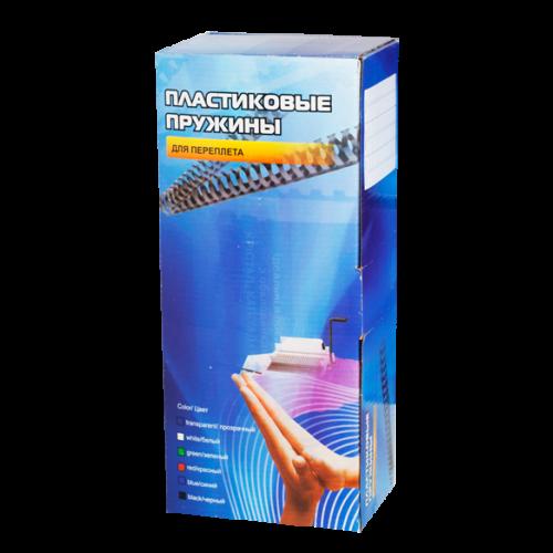 Пластиковые пружины 4,5 мм (2-15 листов) белые 100 шт. Office Kit (BP2135)