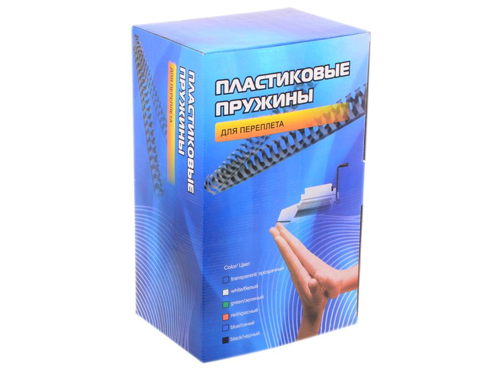 Пластиковые пружины 19 мм (130-170 листов) белые 100 шт. Office Kit (BP2061) пластиковые пружины 22 мм 170 190 листов черные 50 шт office kit bp2066