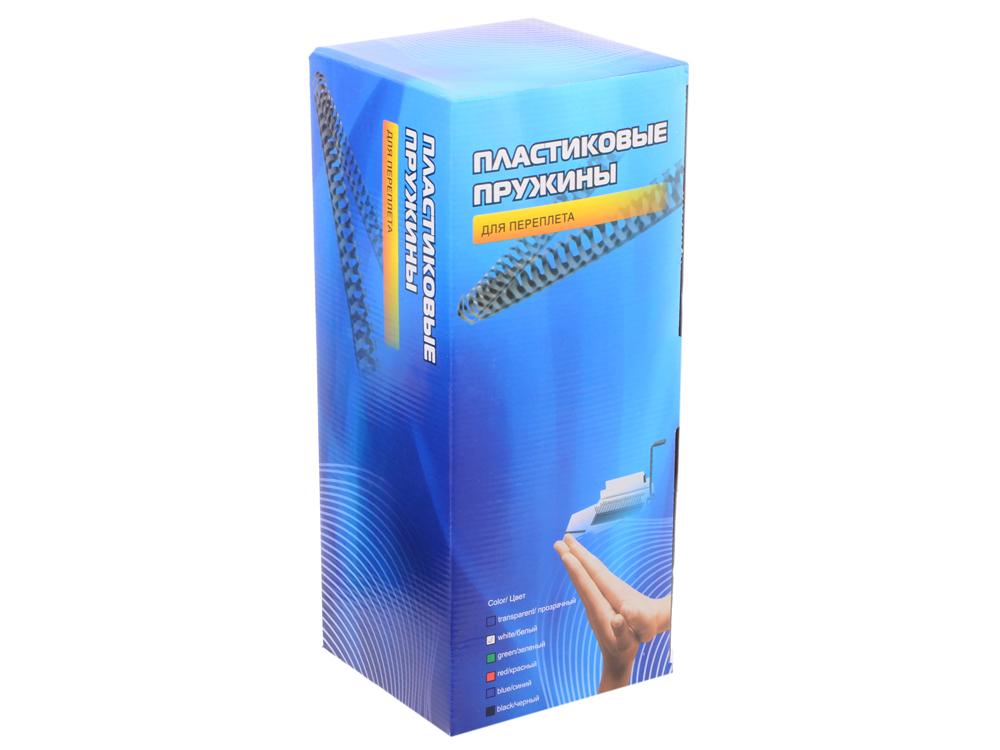 Пластиковые пружины 22 мм (170-190 листов) белые 50 шт. Office Kit (BP2065) пластиковые пружины 22 мм 170 190 листов черные 50 шт office kit bp2066