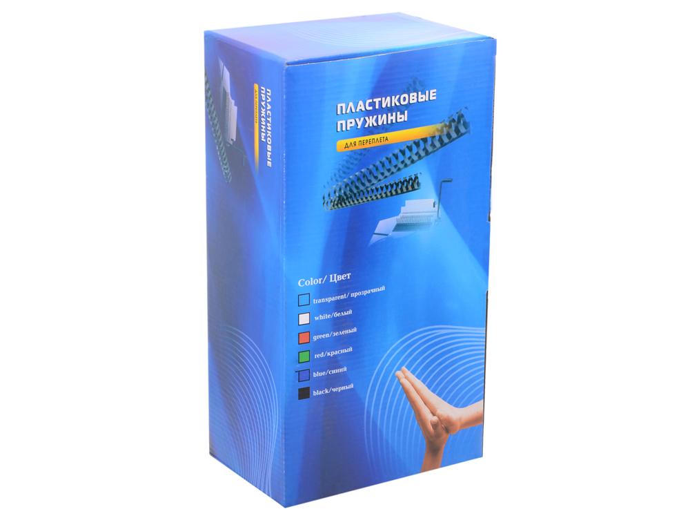 Пластиковые пружины 32 мм (250-280 листов) белые 50 шт. Office Kit (BP2101) переплетчик gbc combbind 100 a4 перфорирует 9 листов сшивает 160 листов пластиковые пружины 6 19мм 4