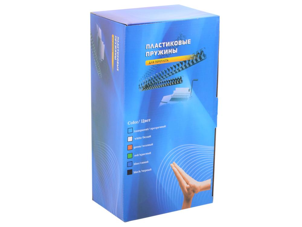 Пластиковые пружины 32 мм (250-280 листов) черные 50 шт. Office Kit (BP2100)