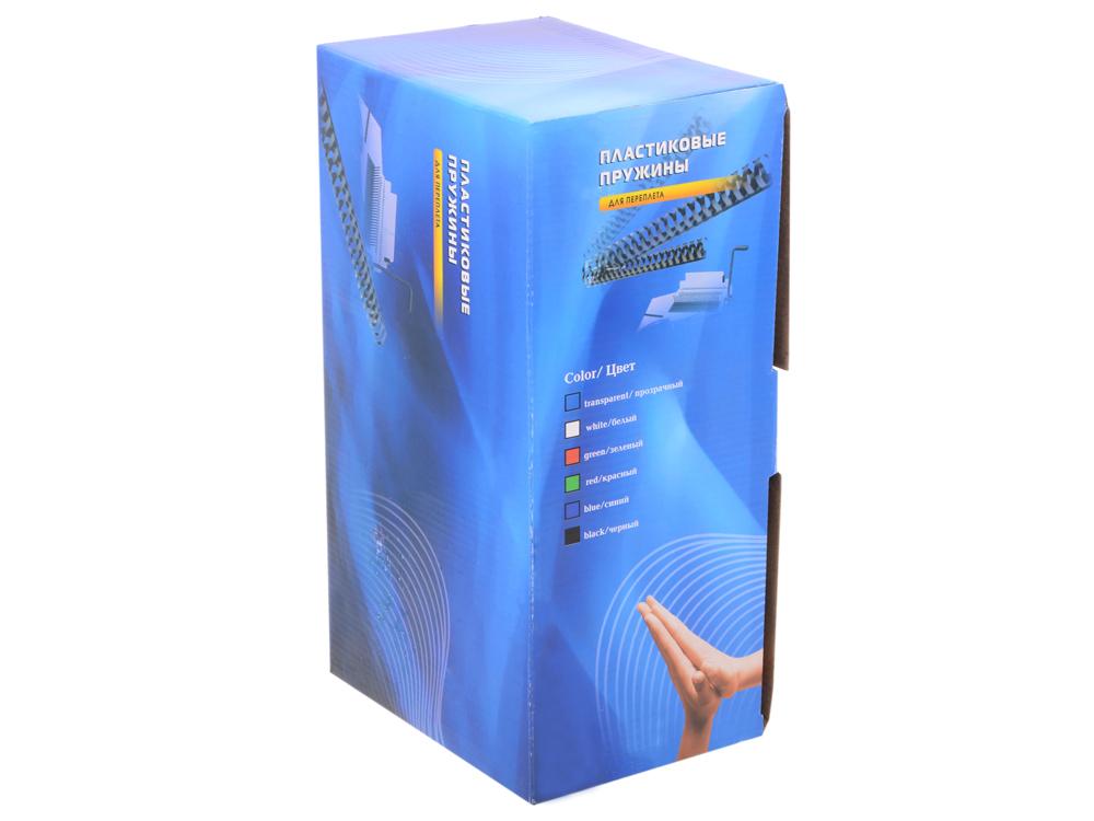 Пластиковые пружины 38 мм (280-340 листов) белые 50 шт. Office Kit (BP2111) пластиковые пружины office kit 51 мм белые 50 шт