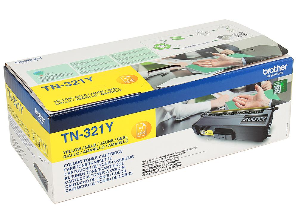 Тонер-картридж Brother TN321Y желтый тонер картридж mx 500gt