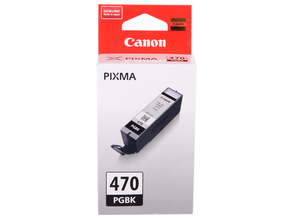 Картридж Canon PGI-470 PGBK для MG5740, MG6840, MG7740. Чёрный. 300 страниц. картридж canon pgi 470xl pgbk для mg5740 mg6840 mg7740 черный 500стр 0321c001