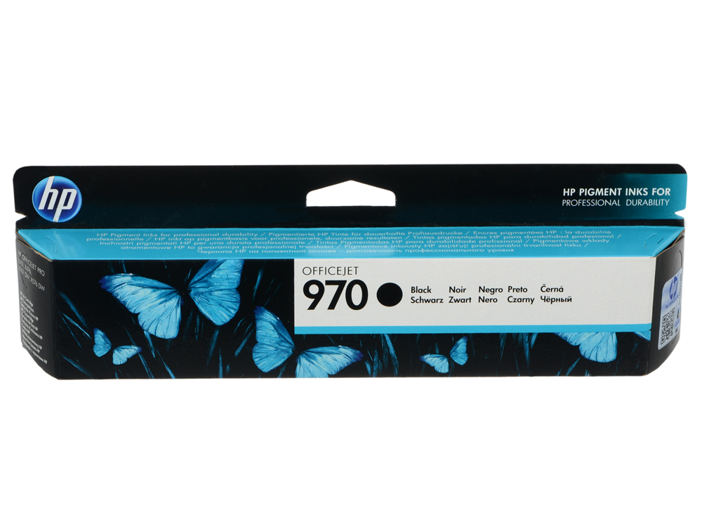 Картридж HP CN621AE для МФУ X476dw/X576dw/ принтер X451dw/X551dw. Чёрный. 3000 страниц. (HP 970) hp970 971 for hp officejet pro x451dn x451dw x551dw x476dn x476dw x576dw printer for hp 970 refillable ink cartridge arc chip